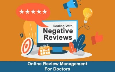 Online Reputation Management for Doctors: Dealing with Negative Reviews